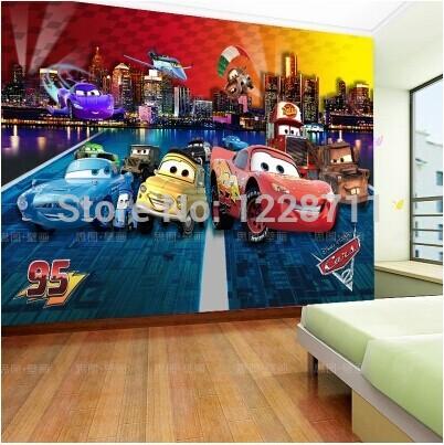 Online kopen wholesale jongens slaapkamer behang uit china jongens slaapkamer behang groothandel - Slaapkamer autos ...