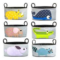 2014 Newest bolsa de bebe for Carrinho baby diaper bags Animal Stroller Accessories nappy changing wet bottle bag  travel bag