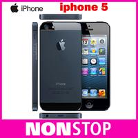 Unlocked Original iPhone 5 iOS 6 Dual-core 1G RAM 16GB/32GB ROM 4.0 inches 8MP Camera WIFI GPS 4G Cell Phones