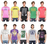 DSQ Free Shipping 2014 Novelty Men's T Shirt Casual O-Neck Short Sleeve 100% Cotton D2 Tees Sports Boys'camisetas Size:M-XXL