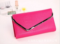 New Arrival Hot Fashion Lady Women Apple Lovely Solid Hasp Fire Long Wallet Clutch Handbag Card Holder Gift Free Shipping W23