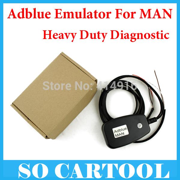 10pcs/lot New Arrival Truck Adblue Emulator MAN No software Need Disable Adblue System Reduce Adblue Consumption(China (Mainland))