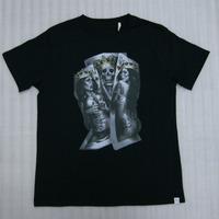 Two of a Kind T Shirt Black Mens clothing skater urban streetwear Custom Mens Black Shirts Diy Blank shirts