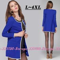 L-XXXXL Brand Jacquard Long Sleeve Pocket Trench Coat for Women Ladies Tops Outerwear Autumn Fashion Windbreaker Cardigan 3282