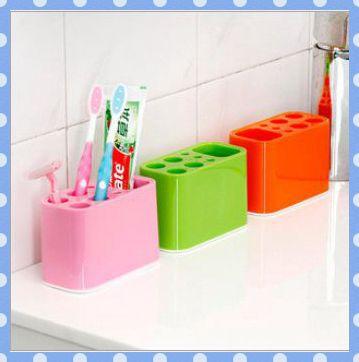 Полочки для ванной комнаты Amy ] 5pcs toothbrush holder allen roth brinkley handsome oil rubbed bronze metal toothbrush holder