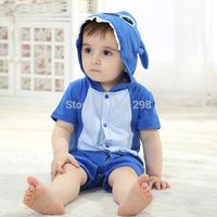 Newly Super Soft 100% Cotton Baby Body Newborn Infant Baby Girls Boys Bodysuit&One-Piece Short Sleeve Bebe Summer Baby Clothing