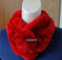 2014 Women's Rabbit Fur Scarf Rabbit Hair Scarf Winter Free Shipping