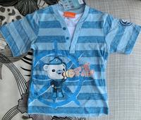 Momo - Wholesale 7pcs/lot octonauts boy cartoon cotton short-sleeved T-shirt 2014 summer cotton T-shirt, 7pcs/lot free Ship