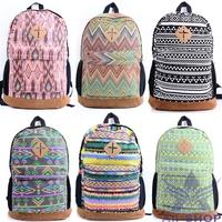 School Backpacks Fashion Shoulder Bags Travel Hiking Schoolbag Canvas School Bags For Teenagers Mochila Feminina Infantil 0487