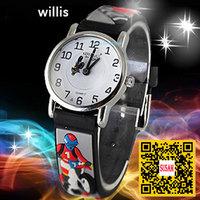 electronic 2014 new! Willis Children's Cartoon Watches Motorcycle pattern Rubber Quartz Snap Children's Dress Watches