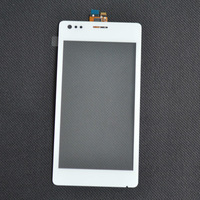 For Sony Xperia M C1904 C1905 C2004 C2005 White Touch Screen Panel Digitizer Glass Lens Repair Parts Replacement + Tracking No.