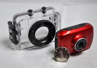 Sports DVR Helmet Waterproof Camera HD Action Camera Sport Outdoor mini Camcorder DV hot digital video cameras free shipping