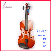 Basswood Polywood Violin Free Shipping Violin with Size 1/4 3/4 4/4 1/2 1/8 Violin Sent with Bow Rosin and Case