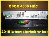 Hot sale!2014 Latest Singapore DVB Starhub HD Cable TV Receiver Set Top Box Blacj Box HD-C601 Support BPL/EPL By Free No icam