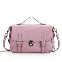2014 New Preppy style Women's genuine leather messenger bags lady's fashion handbags shoulder bag