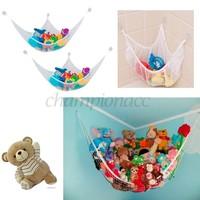 Best sale 2014 Kids Room Jumbo Toy Hammock 4.7 Feet Net make up Organizer Stuffed Doll Animals Storage#10 SV005747