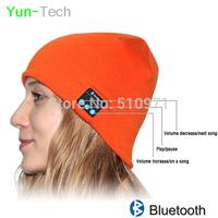 2014 Bluetooth Beanie Hat women men Knitted Wireless Hands-free Music speaker caps for Winter running Sport Iphone 6 Smartphone