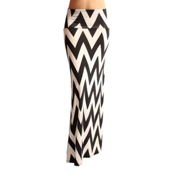 2014 Женщины Длинный Skirts Модный 6 Цветs Pattern Striped Pencil Skirt Повседневный ...