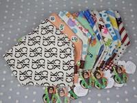 New 2014 Fashion Korean Version Fiber Children Double-deck Scarf Bandage Todder Luch Bibs Burp Cloths Baby Cotton Saliva Towel