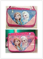 2014 Frozen Lunch Bags Kids Fashion Frozen Lunchbags fashion style single-shoulder bag Free Shipping