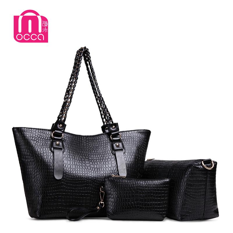 Hot!! Women Messenger Bags Fashion Womens Design High Quality Faux Leather Tote Handbag Shoulder Crossbody Composite Package Bag(China (Mainland))
