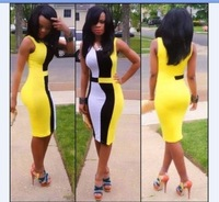 2014 for ban dage dr for ess sexy women bodycon dr for ess es one-piece dress