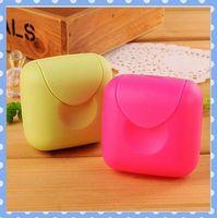 [Amy] free shipping 5pcs/lot Creative travel handmade soap box/Portable soap box high quality on Amy shop
