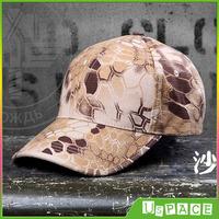 New rattlesnake camouflage baseball cap Men leisure cap tactical baseball cap Outdoor Camouflage hunter Hat travel baseball cap