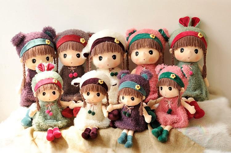 2014 New Frozen Doll Frozen Plush Toys 50cm Big Size Princess Elsa Anna Doll Brinquedos Kids Baby Dolls for Girls Children(China (Mainland))