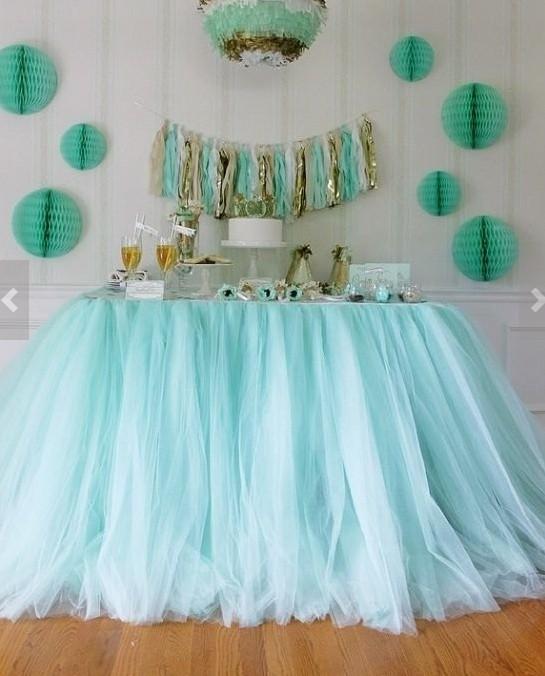 Completely-Custom-Tulle-Table-Skirt-Tutu-Table-Decoration-for-weddings ...