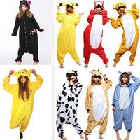 Stitch/Pikachu/Jake Finn/HELLO KITTY BLACK Unisex Adult Pajamas Fashion Cosplay Costumes Animal Onesie Sleepwear Dress Pyjama