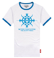Shake WITHIN TEMPTATION cotton lovers rock t-shirt men's and women's T-shirt