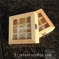 Solid Wood Zaka Wooden Square Box For Kitchen Candy Favoring Seasonerea Holder Compote Dish Sushi Platter 15*15*5.2cm 2pcs/lot