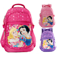2014 News Snow White Girls Children School Bags Kids Backpacks Leisure Waterproof Bag Double Shoulder Bag