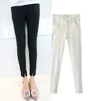 2014 summer new women pants Korean style fashion ladies Slim skinny legs stretch pencil pants solid color trousers S/M/L