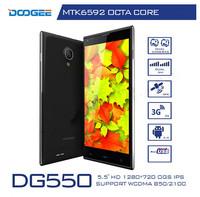 DOOGEE DG550 MTK6592 Octa Core 1.7GHz 5.5 inch  IPS HD Phone 16GB ROM 13.0MP GPS