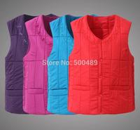 XL-4XLSuper plus size Women High quality embroidery Wear on the inside jacket crochet cotton women's vest Wholesale&retail