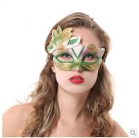 Halloween big of leaves plant masquerade masks v mask