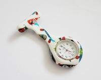 New Arrival Pocket Watches for Children Colorful Silicone Doctor Nurse Watches Medical Watch
