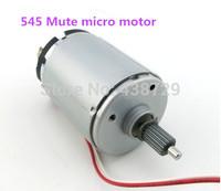 2 pcs high torque DC motor 545 Mute micro motor belt round science experiments wind turbine Free shipping