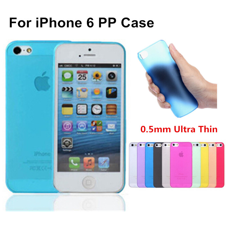 4.7 inch For iphone 6 case n61 2015 New Arrival Fashion Ultra Thin Slim Transparent Design PP Cover Luxury 1 Piece Free Shipping(China (Mainland))