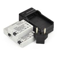 3(Pcs)X Digital Camera Rechargeable Li-ion Battery LP-E8 LP E8 LPE8 For CANON EOS 550D 600D 650D 700D 750D SLR + Charger