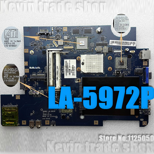 Материнская плата для ПК For lenovo NAWA2 /5972p lenovo G555 amd/, 100% LA-5972p 100% new sr1yw n3540 bga chipset