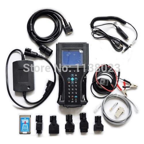 AQkey 1pc GM Tech 2 scan tool Vetronix Tech II with tech2 memory card China tech2 scanner gm diagnostic tool EMS Ship(China (Mainland))