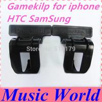 New Gamepad holder for iphone 5 Gameklip game klip game stand holder for iphone Samsung S4 S5 HTC Smartphones