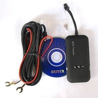 vehicle Quad band GSM GPRS GPS Tracker TK110  Free Shipping