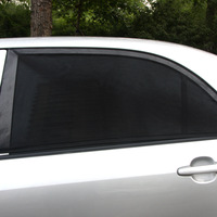 TIROL T11724b 2PCSNewMesh UV Protection Car Window Rear\Side Window Sun Shades For Family Outdoor Travel Size:M/L