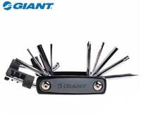 GIANT Shed 11 in 1 Cr-Mo Metallic Bike Bicycle Ferramentas Multi-Function Repair Mini Pocket Tool Kit Tools Set Chain Tool