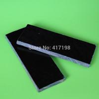 DIY Knife handle, Black&Green CANVAS Micarta Knife Handle Material,knife accessory, 2pcs/lot, Free shipping