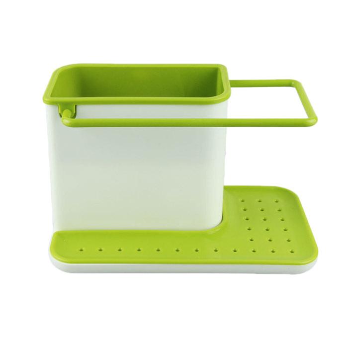 New 3 IN 1 Glove Storage Debris Rack Dishclout Storage Rack kitchen Stands Utensils best deal 1pcs(China (Mainland))
